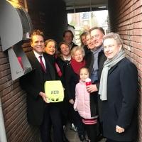 Steeds meer AED's in Amstelveen dankzij buurtinitiatieven