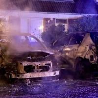 Veel schade bij nachtelijke autobrand